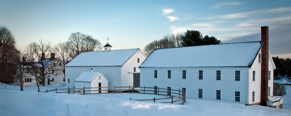 Farmstead in Winter (E. James Whitehead)
