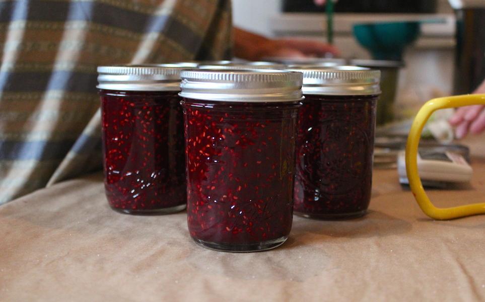 Raspberry plum jam (Rebekah Carter 2011)