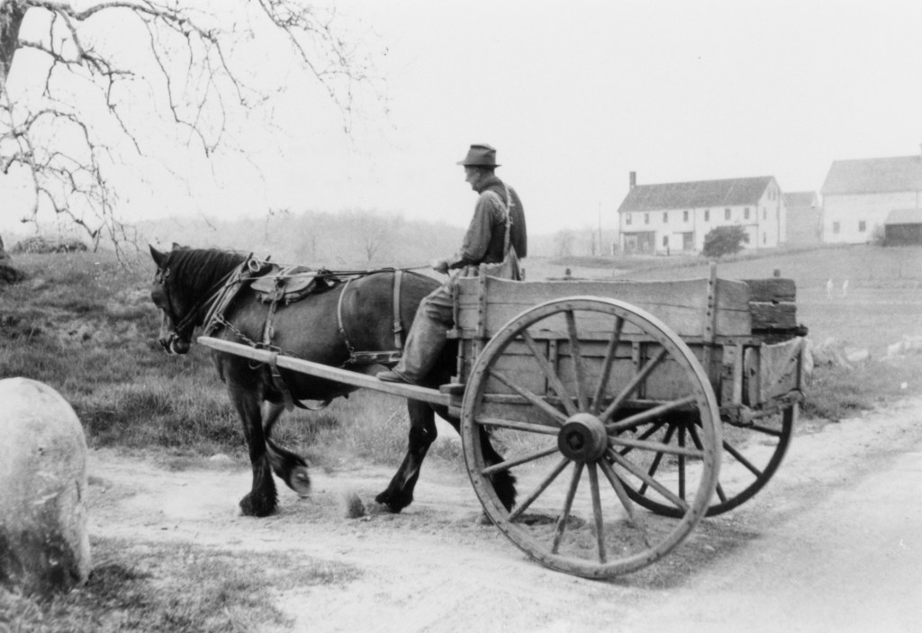 Historic farm wagon (Bill Ryerson)