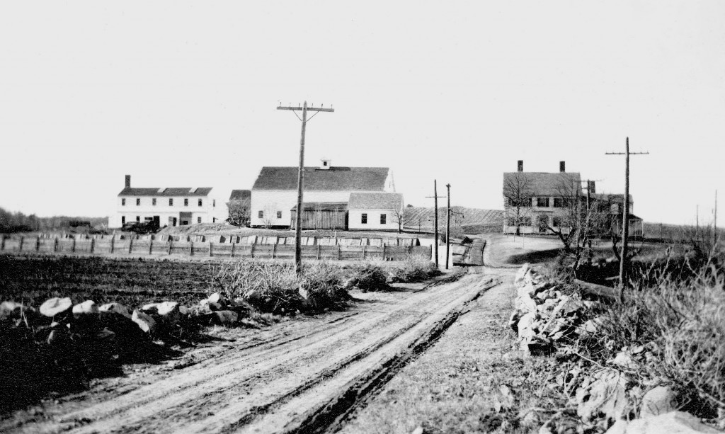 Locke Farm from Ridge Street (Town Archives)
