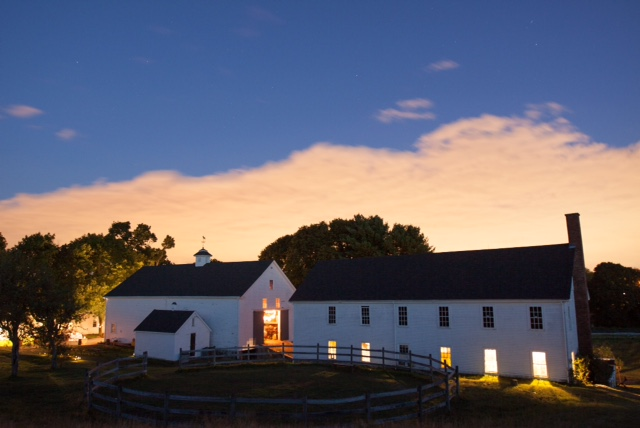 The Barns during 2015 Harvest Dinner (Aquadro Photography 2015)