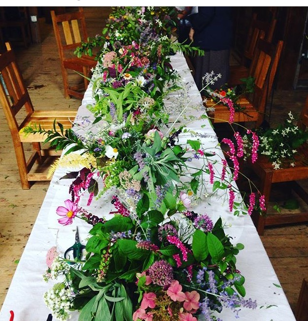 Fall flower arrangements (Ferriss Donham)