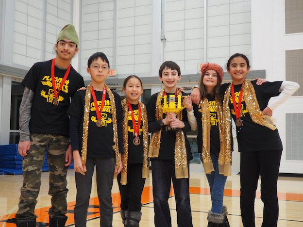 Plasmabots win at the state competition