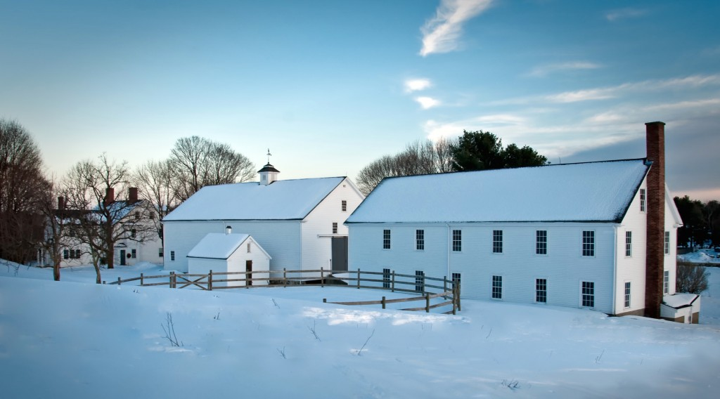 Farmstead in Winter