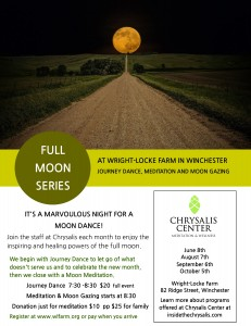 Harvest Moon Meditation at Wright Locke Farm