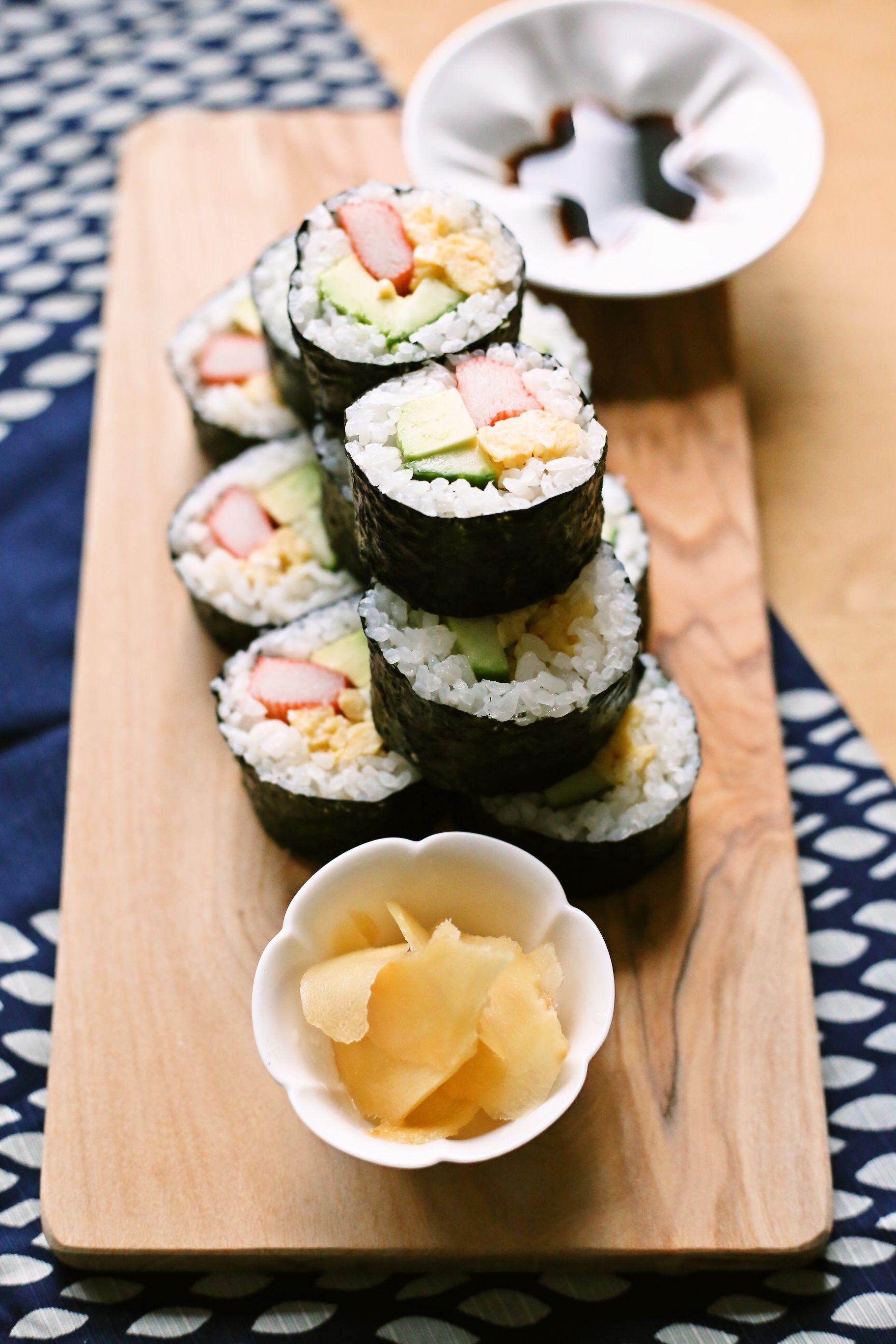 Maki sushi rolls (Yoshiko Sullivan)